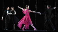 "The Washington Ballet performs ""My Way"" part of ""Nine Sinatra Songs"" at the Kennedy Center for the Performing Arts"