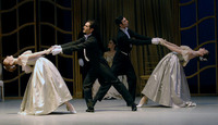 "The ""Leibesliderer Waltz"" performed by the Suzanne Farrell Ballet at the John F. Kennedy Center for Performing Arts"