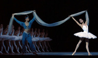 "The Kirov Ballet performing ""La Bayadere"" at the Kennedy center for the Performing Arts"