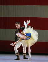 "Balanchine's ""Stars and Stripes"" performed by the Suzanne Farrell Ballet at the Kennedy Center for the Performing Arts"
